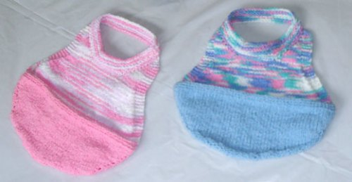 Hand Knit cotton and lycra Crumb Catchers
