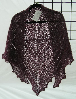 Fireweed Spider-knit Shawl